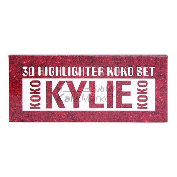 Kala-Market - 3D HIGHLIGHTER KOKO SET1 - پالت هایلایتر کایلی کوکو 3D HIGHLIGHTER KOKO SET