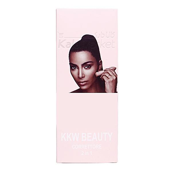 Kala-Market - KKW BEAUTY CORRETTORE 2 IN 1 4 - کانتور و کانسیلر قلمی KKW BEAUTY CORRETTORE (2 IN 1) 2*