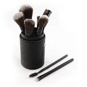 Kala-Market - 12 Cylinder Brush Set 1 300x300 - براش 12 تایی استوانه مشکی مک (Black 12-pin Mac brush)