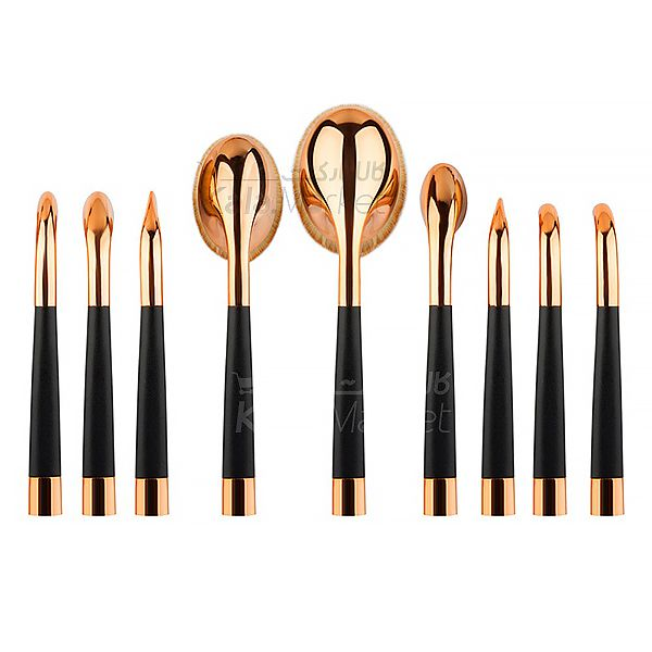 Kala Market-کالا مارکت- Brush Set Curve 2 - براش 10 تایی فوق حرفه ای (Top 10 Super Professional Brush)