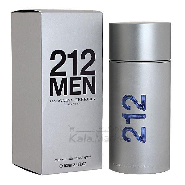 Kala Market-کالا مارکت- CAROLINA HERRERA 212 2 - ادو تويلت مردانه کارولينا هررا مدل Carolina Herrera 212 Men NYC