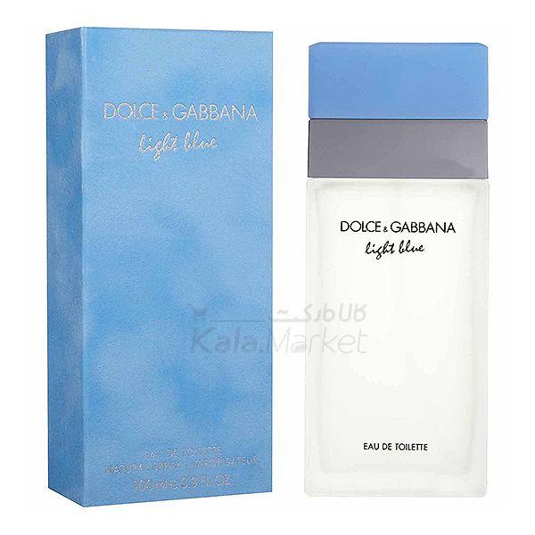 Kala-Market - DOLCE GABBANA LIGHT BLUE2 - ادو تويلت زنانه دولچه اند گابانا مدل Dolce And Gabbana D and G Light Blue