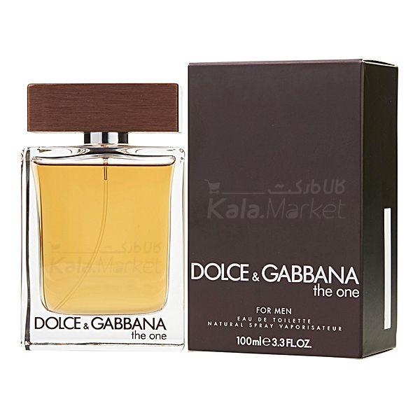 Kala Market-کالا مارکت- DOLCE GABBANA THE ONE2 - ادو تويلت مردانه دولچه اند گابانا Dolce And Gabbana The One