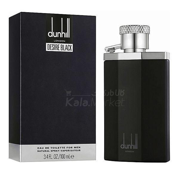 Kala Market-کالا مارکت- DUNHILL LONDON2 - ادو تويلت مردانه دانهيل لاندن مدل Dunhill London Desire Black