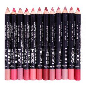 Kala Market-کالا مارکت- Gosh Pen 1  300x300 - رژ لب مدادی 12 عددی جامد گاش (Gosh Lipstick)