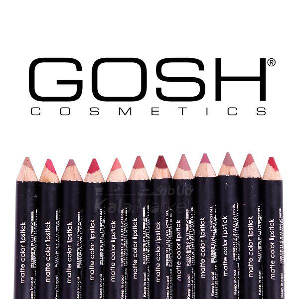 Kala-Market - Gosh Pen 2  - رژ لب مدادی 12 عددی جامد گاش (Gosh Lipstick)