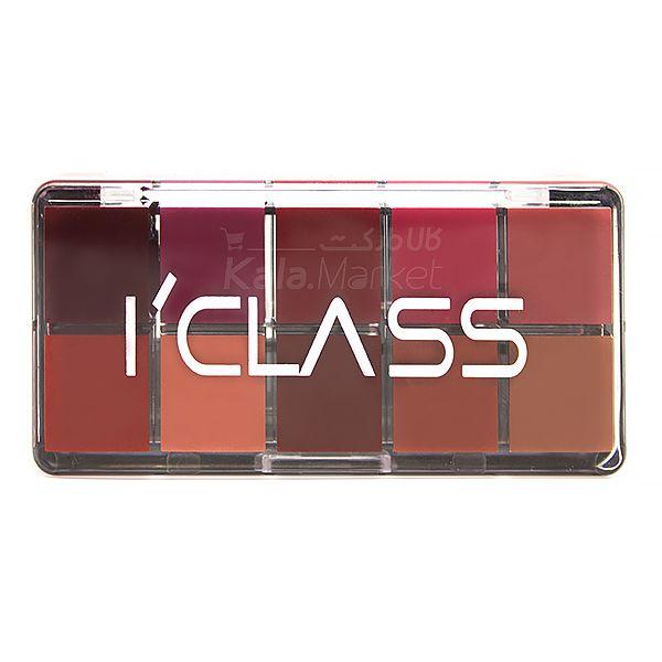 Kala Market-کالا مارکت- ICLASS LIP PALET 6 - پالت رژ آی کلاس (I'CLASS Lipstick Palette)
