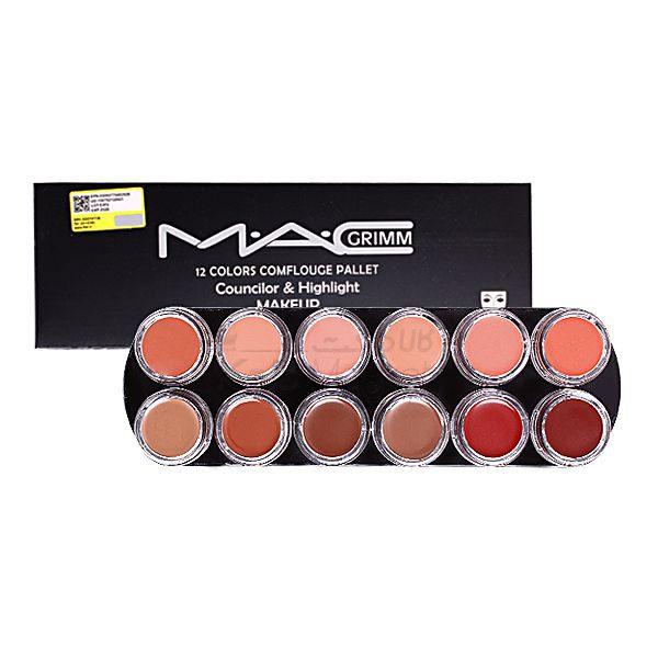 Kala Market-کالا مارکت- MAC PALET LIPSTICK1 4 600x600 - پالت رژ لب مک (MAC Lipstick Palette)