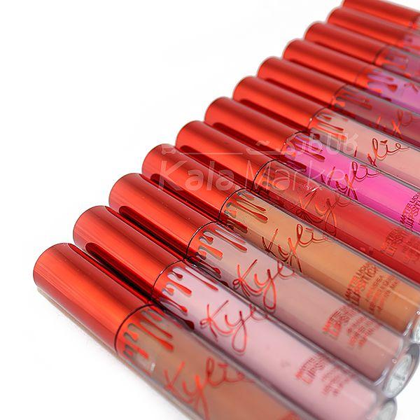 Kala-Market - MATTE LIQUID LIPSTICK KKW BY KYLIE COSMETICS 12 5 - پکیج 12 عددی رژلب مایع کایلی (KYLIE Matte Liquid Lipstick Set)