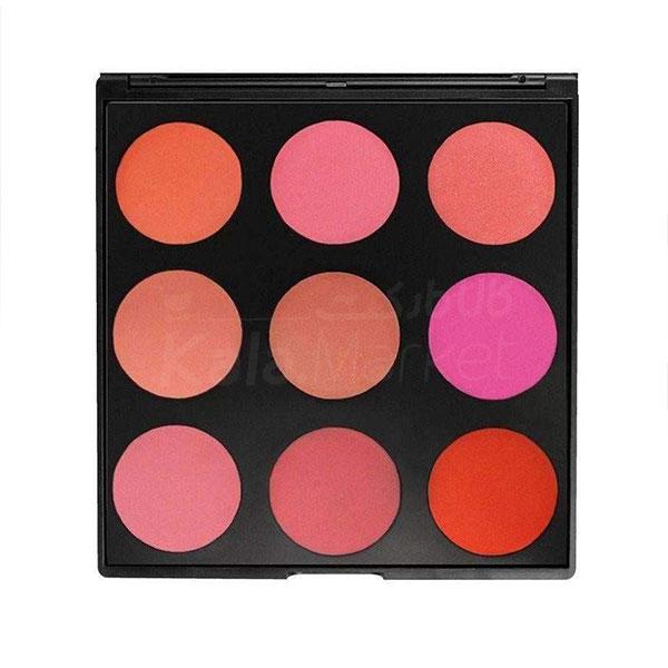 Kala Market-کالا مارکت- Morphe 9B The Blushed Blush Palette 01 - پالت رژگونه 9 عددی مورف (Morphe 9B The Blushed Blush Palette)
