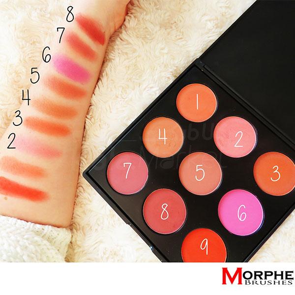 Kala-Market - Morphe 9B The Blushed Blush Palette 02 - پالت رژگونه 9 عددی مورف (Morphe 9B The Blushed Blush Palette)