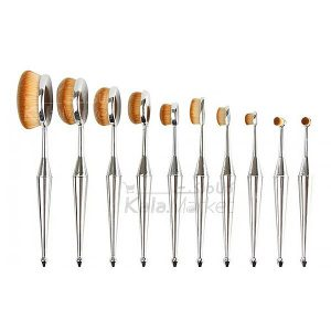 Kala-Market - Multipurpose brush set silver 1 300x300 - براش حرفه ای دسته نقره ای (Multipurpose Brush Set)