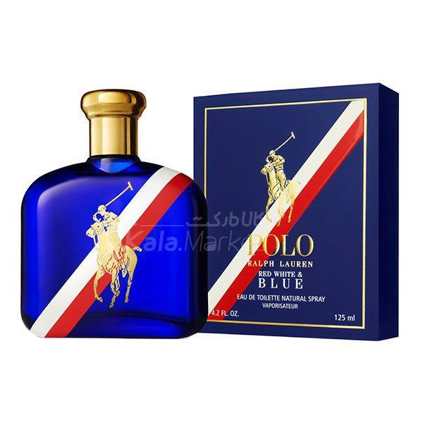 Kala-Market - POLO RALPH LAUREN RED WHITE BLUE2 - ادو تويلت مردانه رالف لورن (پولو) Ralph Lauren Polo Red white & Blue