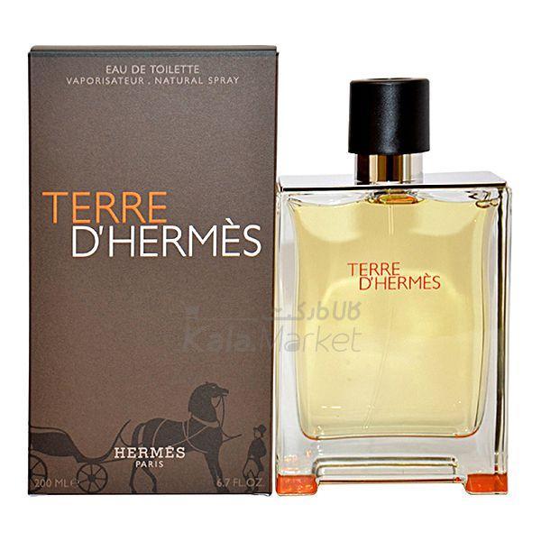 Kala Market-کالا مارکت- TERRE DHERMES2 - ادو تويلت مردانه هرمس مدل Hermes Terre DHermes