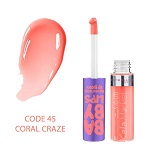 Kala-Market - 3 CORAL CRAZE 45 1 - برق لب میبلین کد 15 (Maybelline Lip Gloss Fuchsia Flicker 15)