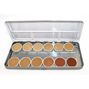 Kala-Market - Comouflage Creme 1 300x300 - پالت 12 رنگ درماکالر(کاموفلاژ) کریولان (KRYOLAN PROFESSIONAL MAKE UP PALETTE)