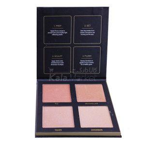 Kala-Market - Huda beauty hilighter0 300x300 - پالت هایلایتر هدی بیوتی رنگهای روشن (Huda Beauty Color Fever Highlighter Palette)