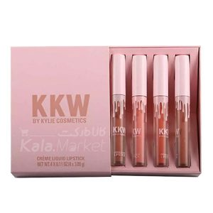 Kala-Market - KKW CRÈME LIQUID LIPSTICK COLLECTION1 300x300 - پک 4 عددی رژلب (KKW BY KYLIE COSMETICS)
