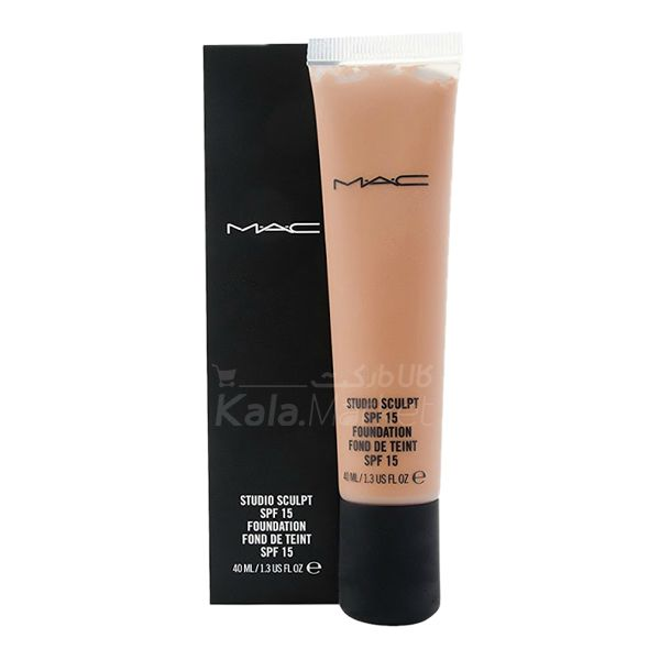 Kala Market-کالا مارکت- MAC STUDIO SCULPT FONDATION SPF 15 1 - کرم پودر تیوپی مک (MAC Studio Scuplt Foundation)
