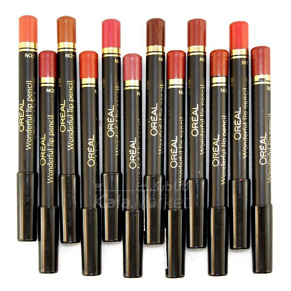 Kala Market-کالا مارکت- OREAL Pen Lipstick 2 - رژ لب 12 عددی جامد لورآل (L'OREAL Lipstick)