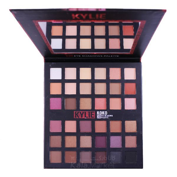 Kala-Market - kylie koko 3D eyeshadow 36 colors 1 600x600 - پالت سایه 36 رنگ کایلی کوکو (KYLIE KOKO 3D Eye Shadows Palette 36 Color)