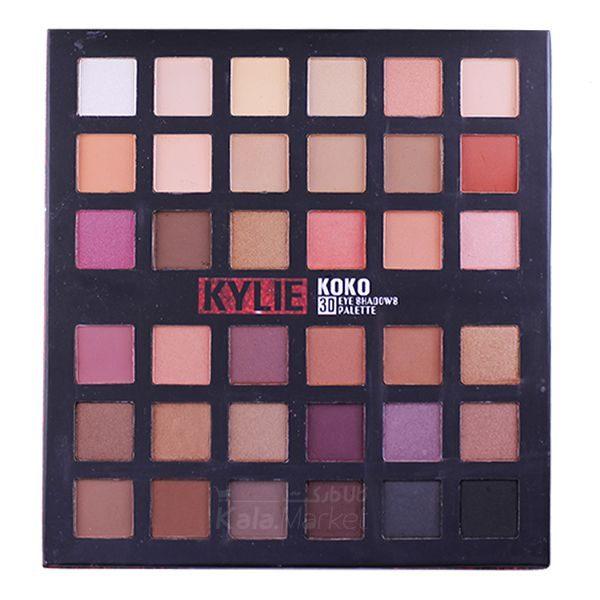 Kala-Market - kylie koko 3D eyeshadow 36 colors 2 600x600 - پالت سایه 36 رنگ کایلی کوکو (KYLIE KOKO 3D Eye Shadows Palette 36 Color)