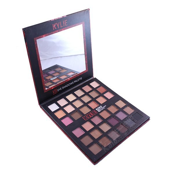 Kala-Market - kylie koko 3D eyeshadow 36 colors 3 600x600 - پالت سایه 36 رنگ کایلی کوکو (KYLIE KOKO 3D Eye Shadows Palette 36 Color)