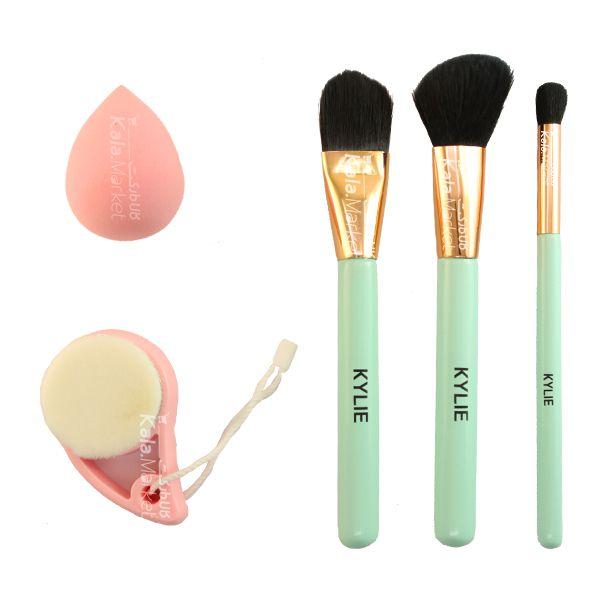 Kala-Market - 1 5 - ست 5 تایی پد و براش کایلی (KYLIE Makeup Headband & Brush Set)