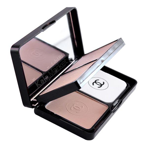 Kala-Market - Chanel 3 in 1 makeup compact powder8 - پنکک 3 در 1 شنل (Chanel 3 In 1 Make-up Compact Powder)