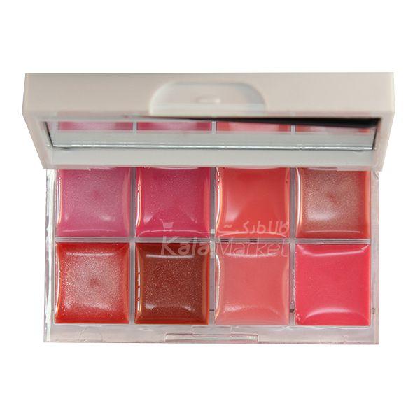 Kala-Market - Dior Lipstick1 - پالت برق لب شاین و مات دیور (Dior 8 Lip Frozen Lustreglass)