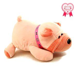 Kala-Market - Dog2 1 1 300x300 - عروسک سگ رنگ صورتی
