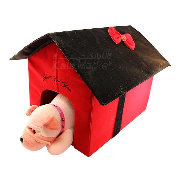 Kala Market-کالا مارکت- Dog2 5 - عروسک سگ رنگ صورتی