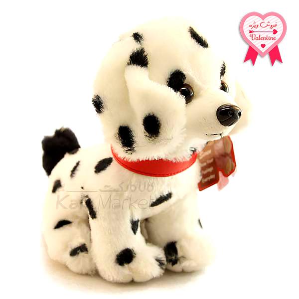 Kala Market-کالا مارکت- Dog5 1 1 - عروسک سگ خالدار