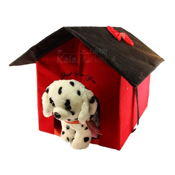 Kala Market-کالا مارکت- Dog5 4 - عروسک سگ خالدار