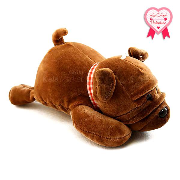 Kala Market-کالا مارکت- Dog6 1 1 - عروسک سگ رنگ قهوه ای