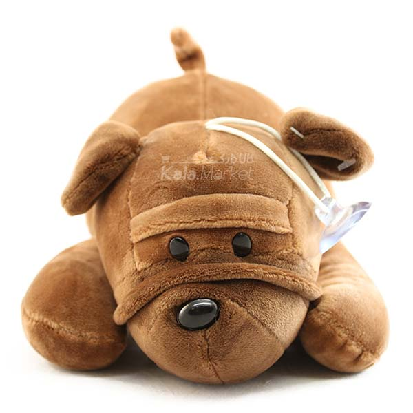 Kala Market-کالا مارکت- Dog6 2 - عروسک سگ رنگ قهوه ای