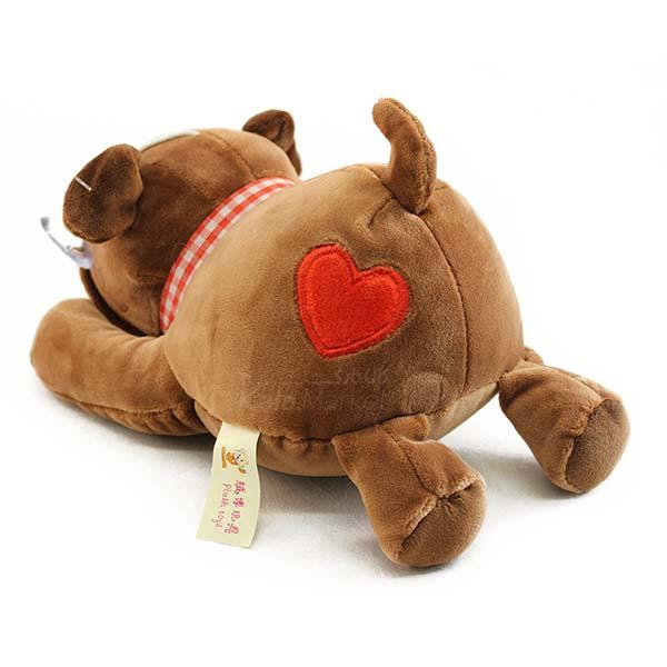 Kala Market-کالا مارکت- Dog6 3 - عروسک سگ رنگ قهوه ای