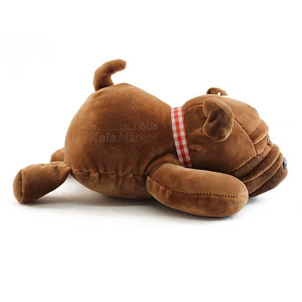 Kala Market-کالا مارکت- Dog6 4 - عروسک سگ رنگ قهوه ای