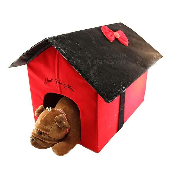 Kala Market-کالا مارکت- Dog6 5 - عروسک سگ رنگ قهوه ای