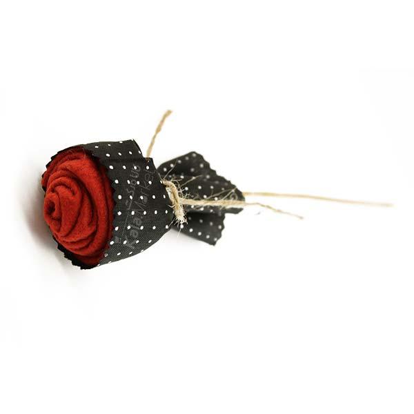 Kala-Market - Flower 2 - گل رز قرمز مشکی