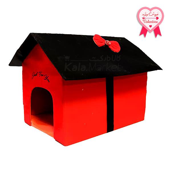 Kala-Market - Home 1 1 - خانه سگ (قرمز مشکی)