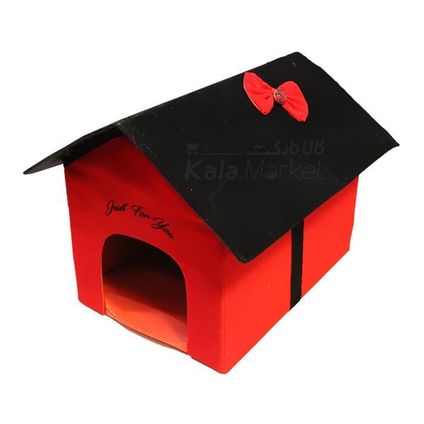 Kala-Market - Home 2 - خانه سگ (قرمز مشکی)