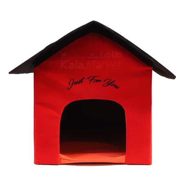 Kala-Market - Home 4 - خانه سگ (قرمز مشکی)
