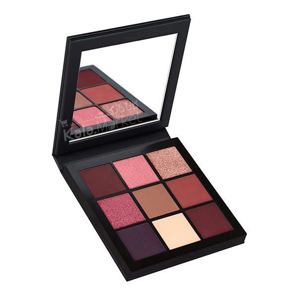 Kala Market-کالا مارکت- Huda Beauty Obsessions Palette Mauve2 600x600 - پالت سایه 9 تایی هدی بیوتی بنفش ارغوانی (Huda Beauty Obsessions Palette Mauve)