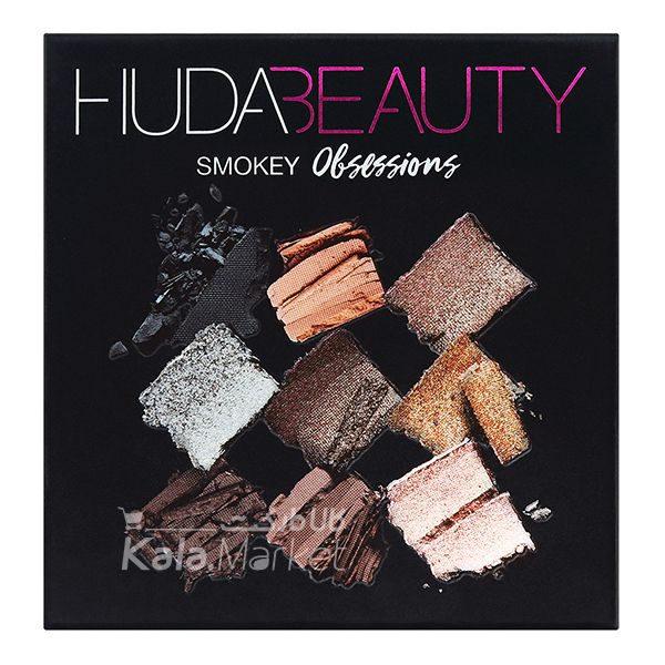 Kala Market-کالا مارکت- Huda Beauty Obsessions Palette Smokey3 600x600 - پالت سایه 9 تایی هدی بیوتی اسموکی (Huda Beauty Obsessions Palette Smokey)