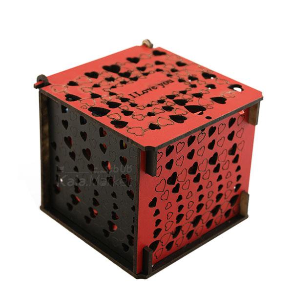 Kala-Market - box3 3 - جعبه شکلات قرمز مشکی (طرح Tiny Heart)