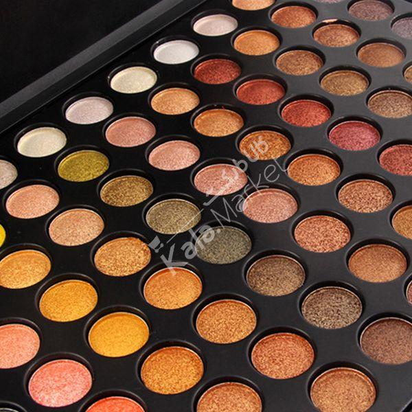 Kala-Market - miss rose eyeshadow3 - پالت سایه حرفه ای 88 تایی میس رز (MISS ROSE 88 Color High Gloss Eyeshadow Palette)