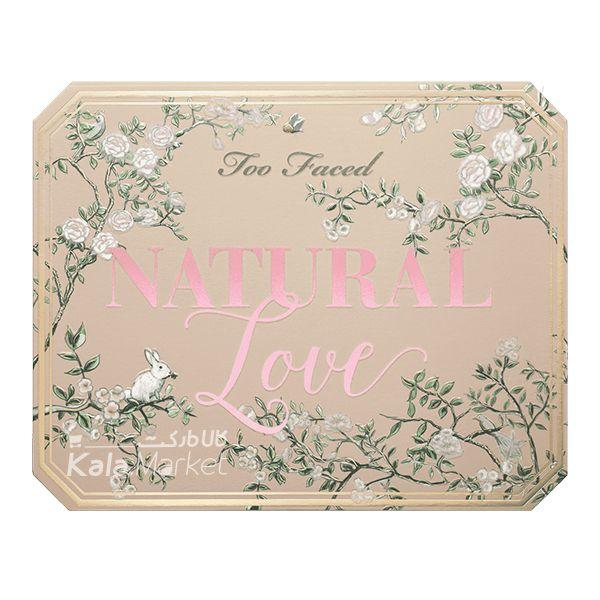 Kala Market-کالا مارکت- 3 6 - پالت سایه 30 تایی توفیسد مدل نچرال لاو (Too Faced Natural Love Eyeshadow Collection)