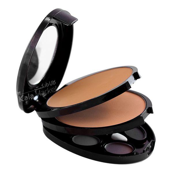 Kala Market-کالا مارکت- MAC makeup kit code1 1 - پنکک و سایه 3 طبقه مک کد 1 (MAC Makeup Kit Code 1)