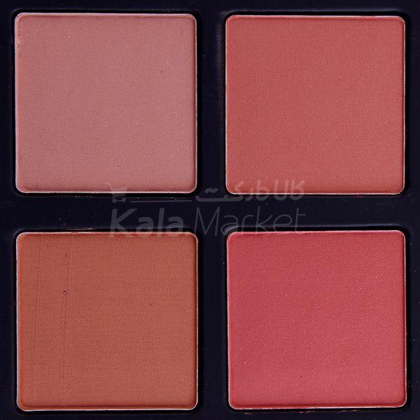 Kala Market-کالا مارکت- arskin blusher eyeshadow palette3 - پالت سایه و رژگونه مات آرت اسکین (ARTSKIN Blusher & Eyeshadow Palette)